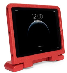 Kensington SafeGrip Rugged Case for Apple iPad Air, iPad Air2 & iPad 9.7 (Red)