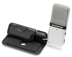 Samson Go Mic Portable USB Condenser Microphone  w/ FREE 15Ft Cable