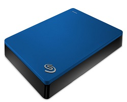Seagate Backup Plus 5TB Portable USB 3.0 External Hard Drive (Blue)