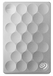 Seagate Backup Plus Ultra Slim 2TB Portable USB 3.0 External Hard Drive (Platinum)_LARGE