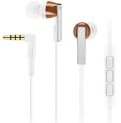 Sennheiser CX5.00i Mobile iOS Earphones (White) (While They Last!)