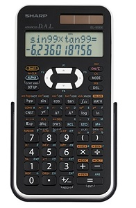 Sharp EL506X Scientific Calculator (Black/White)