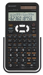 Sharp EL520X Scientific Calculator (Black/White)