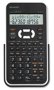 Sharp EL531X Scientific Calculator (Black/White)