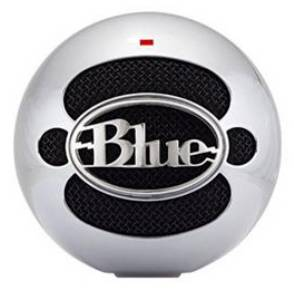 Blue Microphones Snowball Professional USB Mic (Aluminum) with FREE Earbuds_LARGE