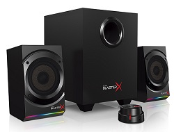 Sound BlasterX Kratos S5 2.1 Gaming Speaker System with FREE Gaming Mouse