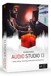 MAGIX Creative Software Sound Forge Audio Studio 13 (Download) LARGE