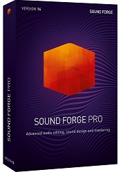 MAGIX Creative Software Sound Forge Pro 14 (Download) LARGE