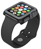 Speck CandyShell Fit for 42mm Apple Watch with FREE Earphones (Black/Slate Grey)