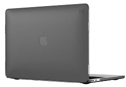 "Speck SmartShell Case for MacBook Pro 2016 15"" with FREE Lighting Cable & Adapter (Black) LARGE"