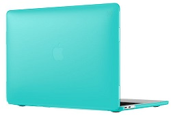 "Speck SmartShell Case for MacBook Pro 2016 13"" with FREE Lighting Cable & Adapter (Calypso Blue)"
