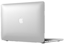 "Speck SmartShell Case for MacBook Pro 2016 15"" with FREE Lighting Cable & Adapter (Clear) LARGE"