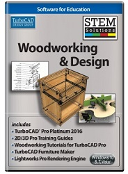 TurboCAD Woodworking and Design STEM Solution (ESD)