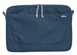 "STM Blazer Laptop Sleeve for 15"" Notebooks with FREE Portable Charger (Moroccan Blue)"