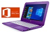 "HP Stream 11.6"" Intel Celeron 4GB 32GB eMMC Laptop w/MS Office 2019 (Purple) (Refurbished)"