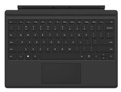 Microsoft Surface Pro Type Cover Keyboard/Cover Case (Black) LARGE