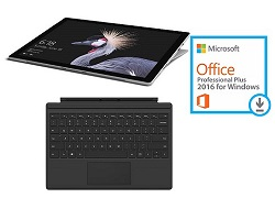 Microsoft Surface Pro Plus Intel Core i7 256GB SSD 8GB RAM with Microsoft Office Pro 2016 (On Sale!)