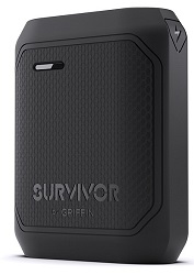 Griffin Survivor Power Bank Rugged 10,050 mAH Portable Charger