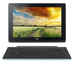 "Acer Aspire Switch 10 E SW3-013-197E 10.1"" Intel Quad-Core 2GB RAM 2-in-1 Laptop PC with Windows 10"