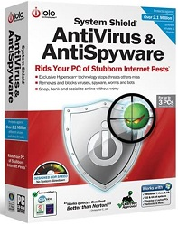 IOLO System Shield AntiVirus & AntiSpyware Whole Home License (Download) LARGE