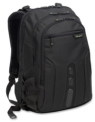 "Targus 15.6"" Spruce EcoSmart Checkpoint-Friendly Backpack LARGE"