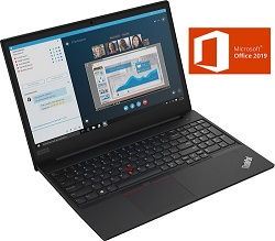 "Lenovo ThinkPad Edge E590 15.6"" Intel Core i5 8GB RAM 1TB HDD Laptop w/Office Pro 2019 LARGE"