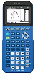 Texas Instruments TI-84 Plus CE Graphing Calculator (Blue)