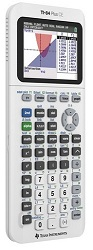 Texas Instruments TI-84 Plus CE Graphing Calculator (White)