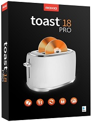 Roxio Toast 18 Pro with WinZip for Mac (Download) LARGE
