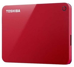 Toshiba Canvio Advance USB 3.0 External Hard Drive (2 Capacities) LARGE