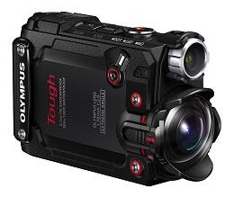 Olympus Tough TG Tracker Outdoor Ultra HD Action Cam (Black)