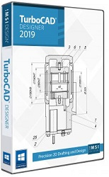 TurboCAD Designer 2019 for Windows (Download) LARGE