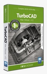 TurboCAD Mac Deluxe 2D/3D v12 (Download) LARGE