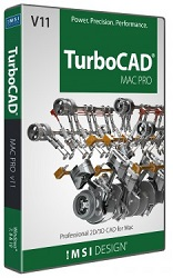 TurboCAD Mac Pro v11 (Electronic Software Download) LARGE