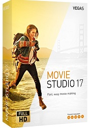 MAGIX Creative Software VEGAS Movie Studio 17 (Download) LARGE