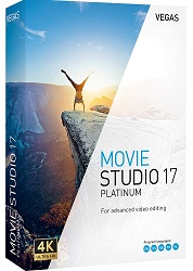 MAGIX Creative Software VEGAS Movie Studio 17 Platinum (Download) LARGE