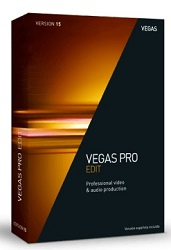 MAGIX Creative Software VEGAS Pro Edit 15 (Download)