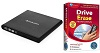 Verbatim External Slimline CD/DVD Reader/Writer with Drive Erase Pro