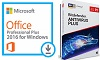 Microsoft Office 2016 Pro Plus w/AntiVirus (Student Download) WINDOWS