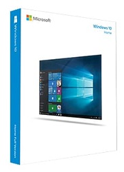 Microsoft Windows 10 Home 32-Bit/64-Bit (Download) LARGE