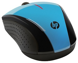 HP X3000 Wireless Mouse (Light Blue)