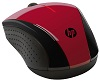 HP X3000 Wireless Mouse (Red)