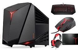 Lenovo IdeaCentre Y710 Cube Intel Core i7 16GB NVIDIA GeForce GTX 1080 Portable Gaming Center Deluxe