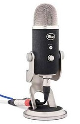Blue Microphones Yeti Pro USB Microphone with FREE! Audio & Music Lab Software LARGE