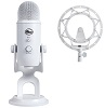 Blue Microphones Yeti Whiteout USB Microphone Studio Edition THUMBNAIL