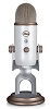 Blue Microphones Yeti USB Microphone (Vintage White) with FREE Audio Cleaning Software