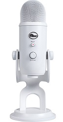 Blue Microphones Yeti Whiteout USB Microphone