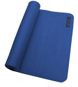 Zenzation Athletics Premium Yoga Mat with BONUS  (Blue)