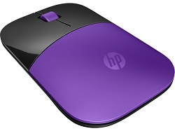HP Z3700 Wireless Mouse (Purple)