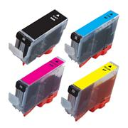 Kodak Brand Ink Cartridge Compatible With Canon 0628B027 (Combo Pack: B(PGI)/C/M/Y) THUMBNAIL